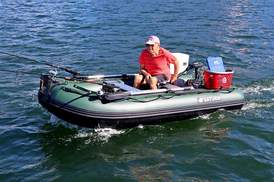 inflatable fishing boats on UK market