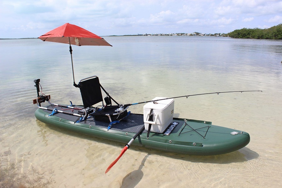 what are the best inflatable paddle board for fishing on UK market