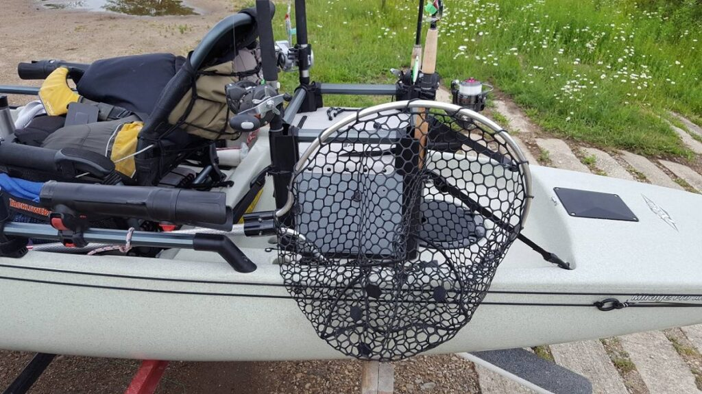 what is the best kayak fishing net